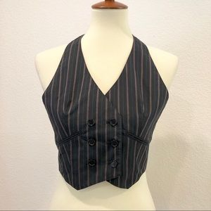BCBG Pinstripe Vest